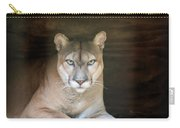 Babcock Wilderness Ranch - Portrait Of Oceola The Panther Carry-all Pouch