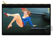 Babe On Wwii Bomber The Show Me Carry-all Pouch