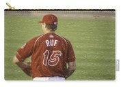 Babe Ruf Carry-all Pouch by Trish Tritz