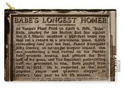 Babes Longest Homer Carry-all Pouch