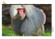 Baboon Stalking Carry-all Pouch