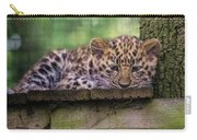 Baby Amur Leopard Carry-all Pouch