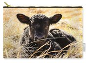 Baby Angus Calf Hideaway Carry-all Pouch