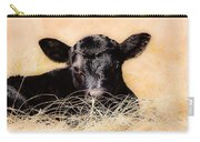 Baby Angus Calf  Carry-all Pouch