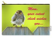 Baby Bird Carry-all Pouch by Betty LaRue