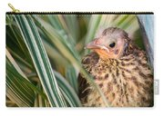 Baby Bird Peering Out Carry-all Pouch