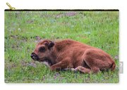 Baby Bison Carry-all Pouch