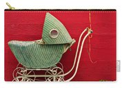 Baby Buggy With Red Wall Carry-all Pouch