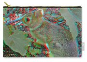 Baby Bunny - Use Red-cyan 3d Glasses Carry-all Pouch