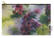 Baby Cabernet I  Triptych  Carry-all Pouch