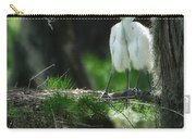 Baby Great Egrets With Nest Carry-all Pouch