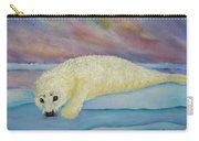 Baby Harp Seal Carry-all Pouch
