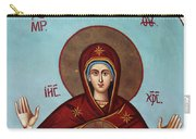 Baby Jesus In Orthodox Church Carry-all Pouch