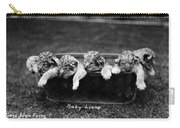 Baby Lions, C1900 Carry-all Pouch