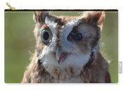 Cute Screetch Owl Carry-all Pouch