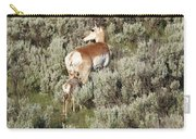 Baby Pronghorn Feeding Carry-all Pouch