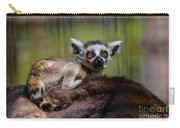 Baby Ring-tailed Lemur Carry-all Pouch