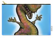 Baby T-rex Blue Carry-all Pouch