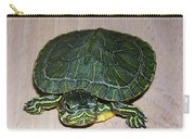 Baby Turtle Looking Up Carry-all Pouch