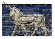 Babylon: Enamel Brick Bull Carry-all Pouch