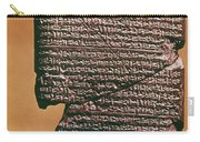 Babylonian Clay Tablet Carry-all Pouch