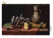 Bachelor S Table By William Michael Harnett Carry-all Pouch