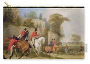 Bachelor's Hall - The Meet Carry-all Pouch by Francis Calcraft Turner