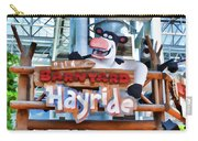 Back At The Barnyard Hayride Carry-all Pouch