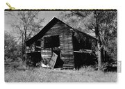 Back On The Farm Black And White Carry-all Pouch
