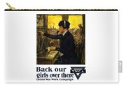 Back Our Girls Over There Carry-all Pouch by War Is Hell Store
