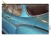 Back Side Of A Blue Vintage Car  Carry-all Pouch