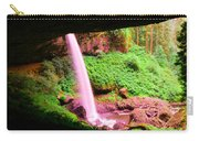 Back Side Of Silver Falls Carry-all Pouch