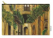 Back Street In Italy Carry-all Pouch by Charlotte Blanchard