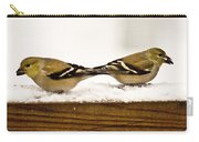 Back To Back American Gold Finches Carry-all Pouch