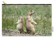 Back To Back Prairie Dogs Carry-all Pouch