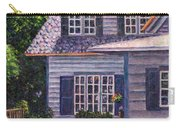 Back Yard With Flower Pots Carry-all Pouch