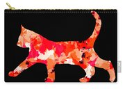 Background Colour Choice Cat Carry-all Pouch