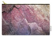 Background Dark Detail Block Of Stone Carry-all Pouch