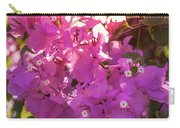Backlit Bougainvillea Carry-all Pouch