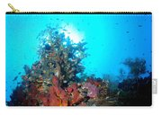 Backlit Coral Carry-all Pouch
