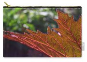Backlit Leaf 1 Carry-all Pouch