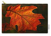Backlit Leaf Carry-all Pouch
