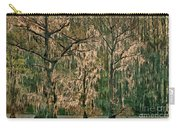 Backlit Moss-covered Trees Caddo Lake Texas Carry-all Pouch