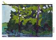 Backlit Pines Carry-all Pouch