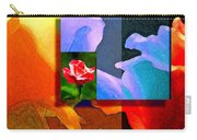 Backlit Roses Carry-all Pouch