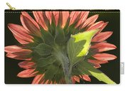 Backlit Sunflower  Carry-all Pouch
