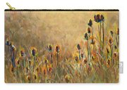 Backlit Thistle Carry-all Pouch
