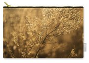 Backlit Wildflower Seeds In Autumn Carry-all Pouch