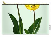 Backlit Yellow Tulips Carry-all Pouch