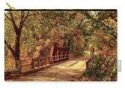 Backroads River Bridge Carry-all Pouch